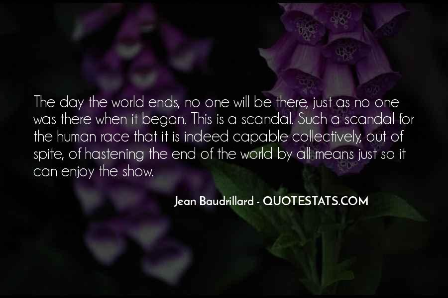 Baudrillard Quotes #158387