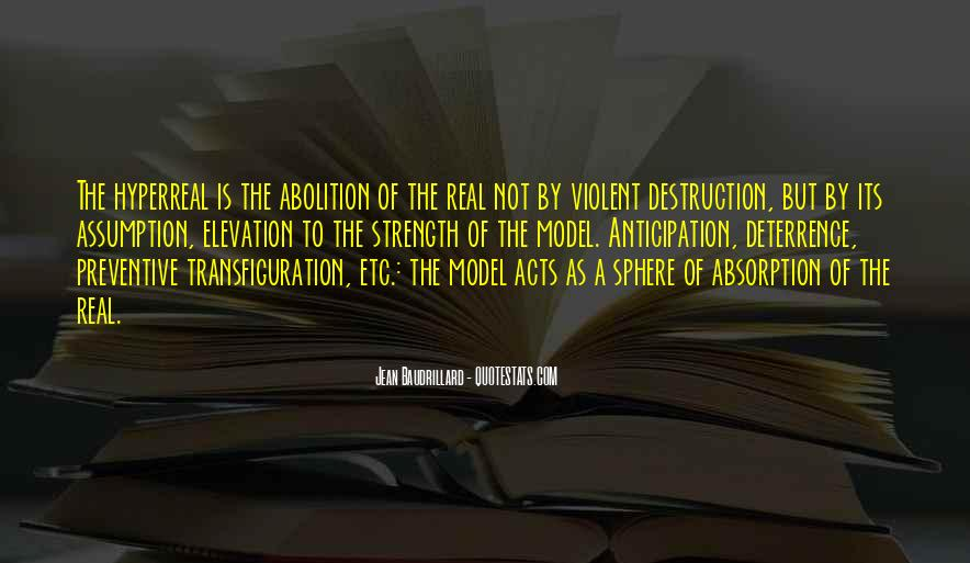 Baudrillard Quotes #169726