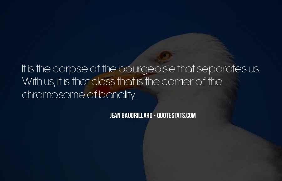 Baudrillard Quotes #225741