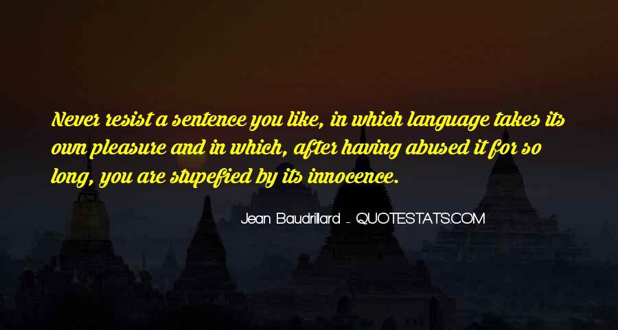 Baudrillard Quotes #226634