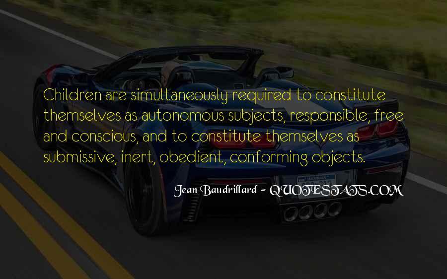Baudrillard Quotes #241898