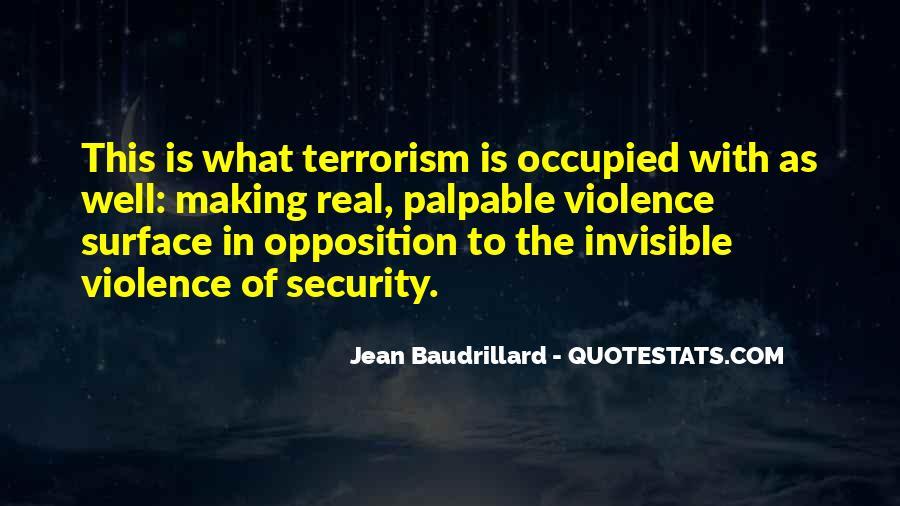 Baudrillard Quotes #249850