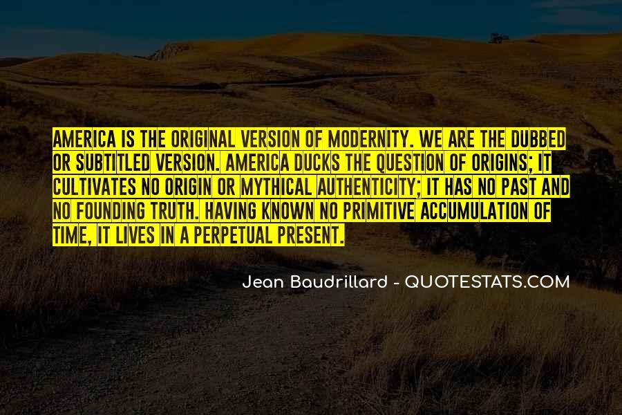 Baudrillard Quotes #259474