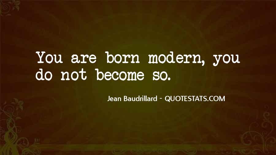 Baudrillard Quotes #265677