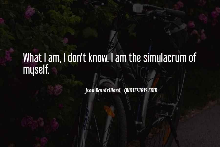Baudrillard Quotes #282611