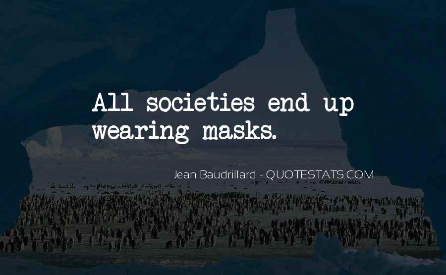 Baudrillard Quotes #298277