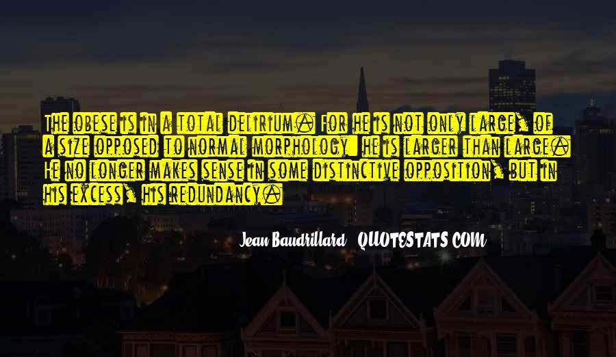 Baudrillard Quotes #313280