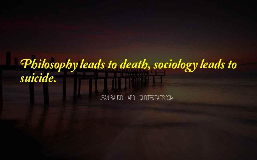 Baudrillard Quotes #32454