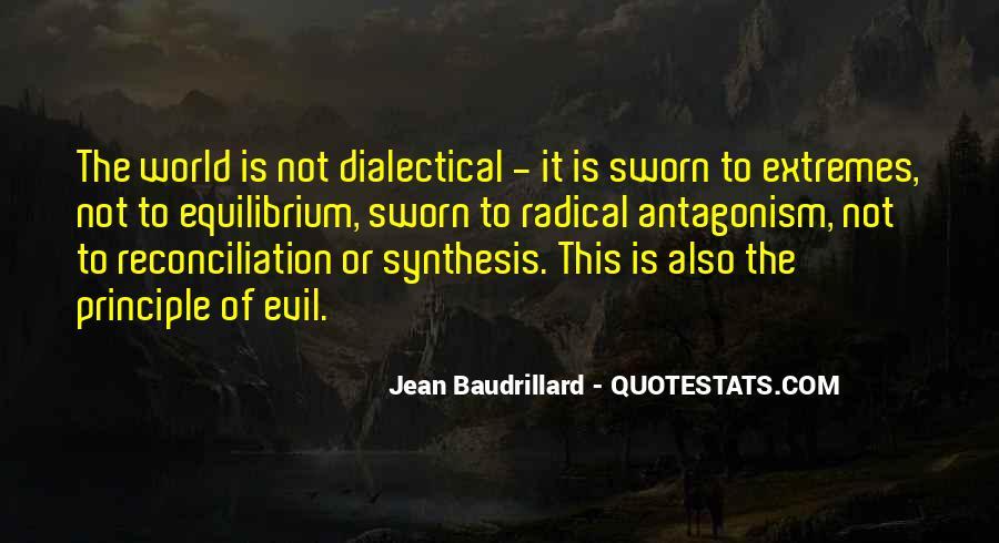 Baudrillard Quotes #33386