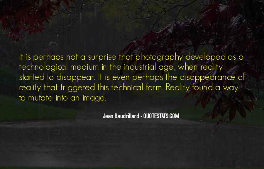 Baudrillard Quotes #344354