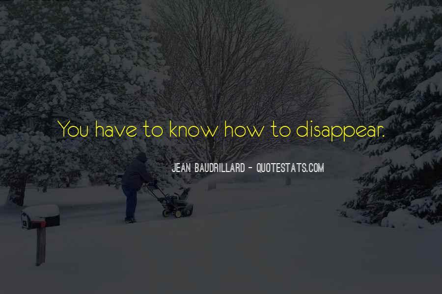 Baudrillard Quotes #413756