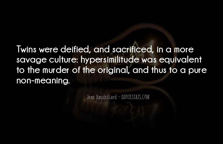 Baudrillard Quotes #434123