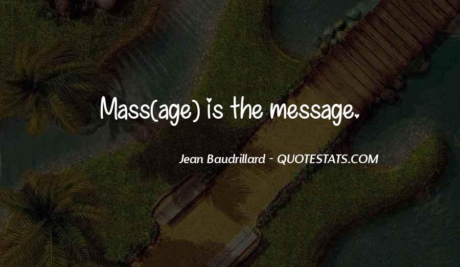 Baudrillard Quotes #466307