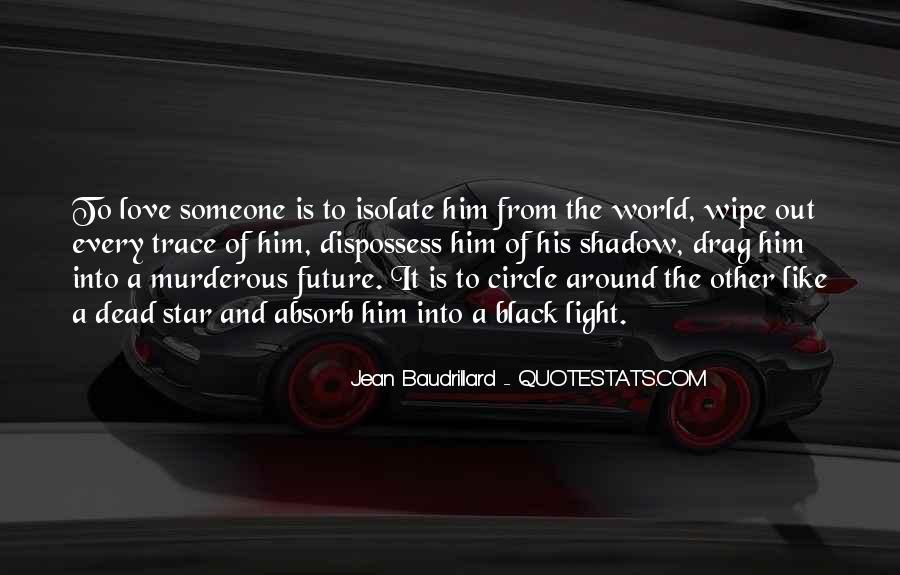 Baudrillard Quotes #49299