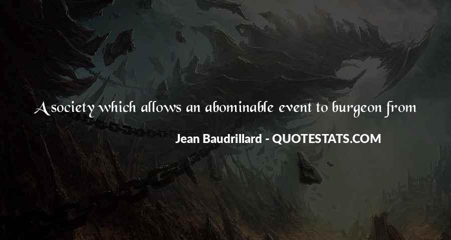 Baudrillard Quotes #512123