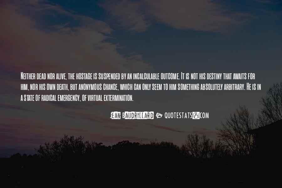 Baudrillard Quotes #524163
