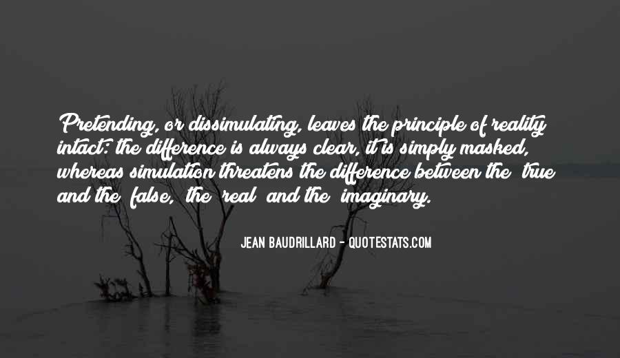 Baudrillard Quotes #582117