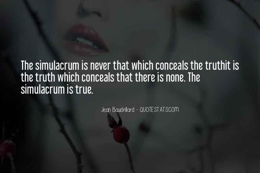 Baudrillard Quotes #587307