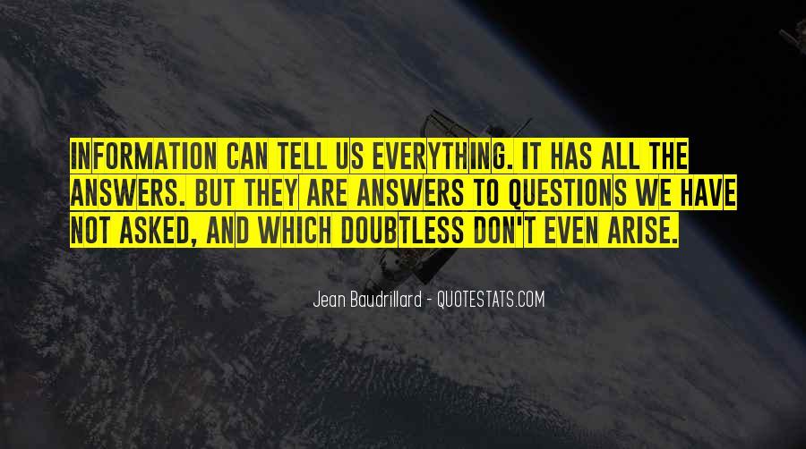 Baudrillard Quotes #607744
