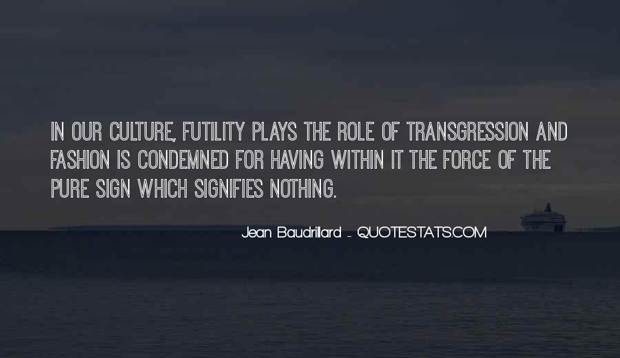 Baudrillard Quotes #743043