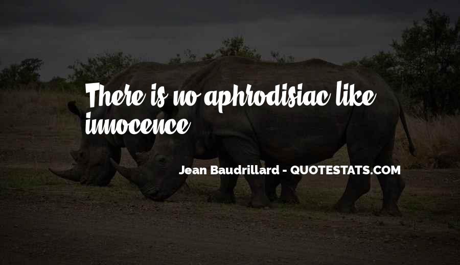 Baudrillard Quotes #769777