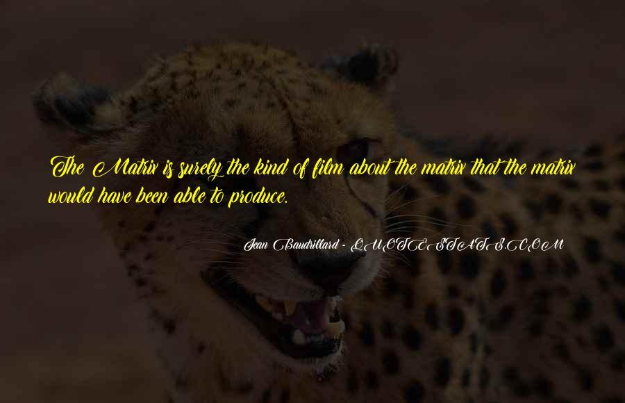Baudrillard Quotes #799736