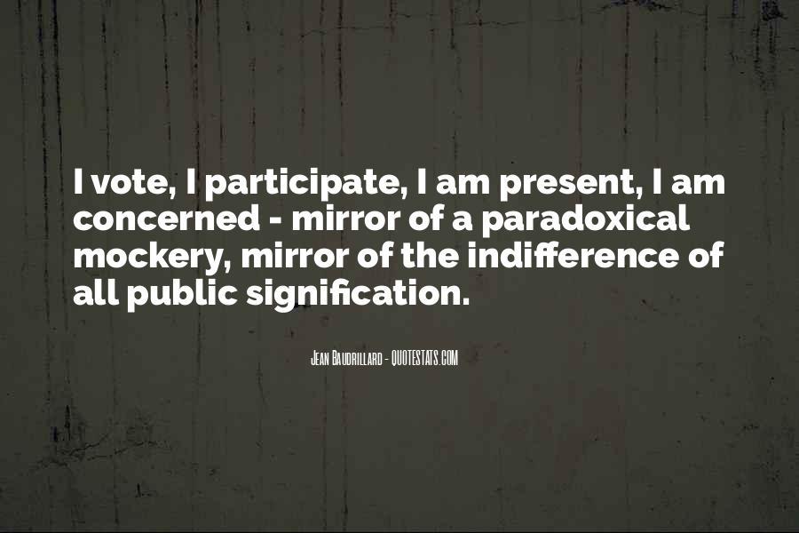 Baudrillard Quotes #85723