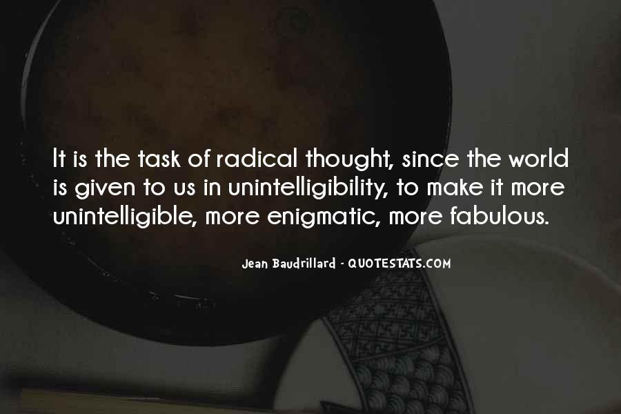 Baudrillard Quotes #858037