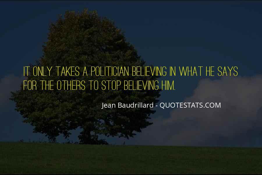 Baudrillard Quotes #867750