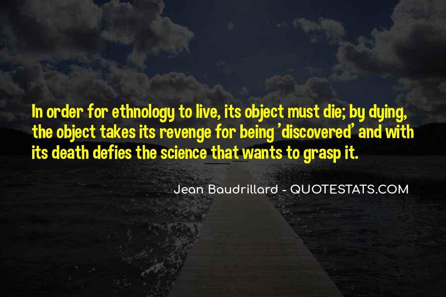 Baudrillard Quotes #874236