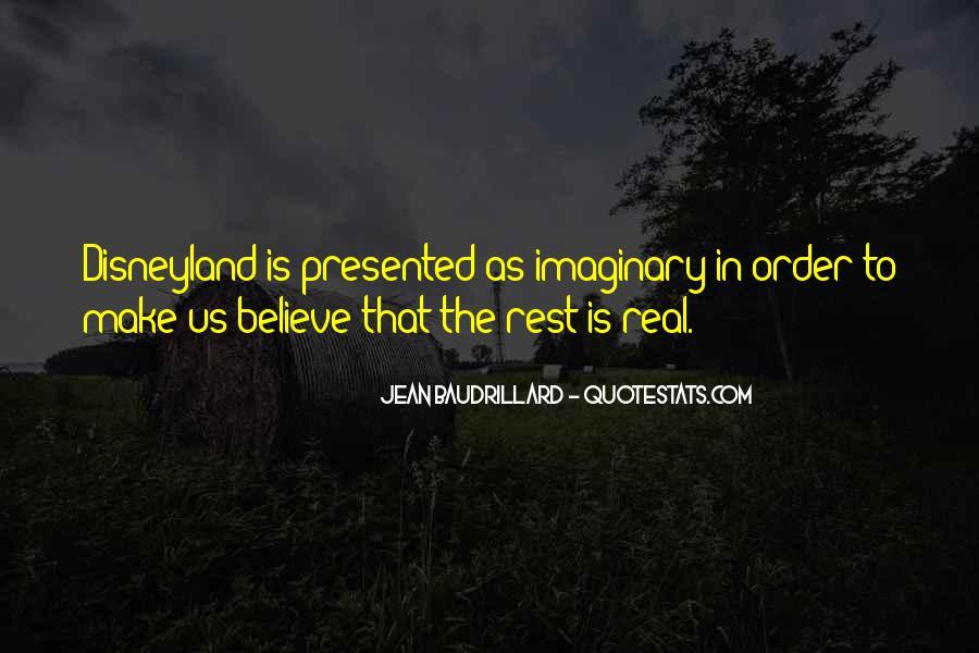 Baudrillard Quotes #982710