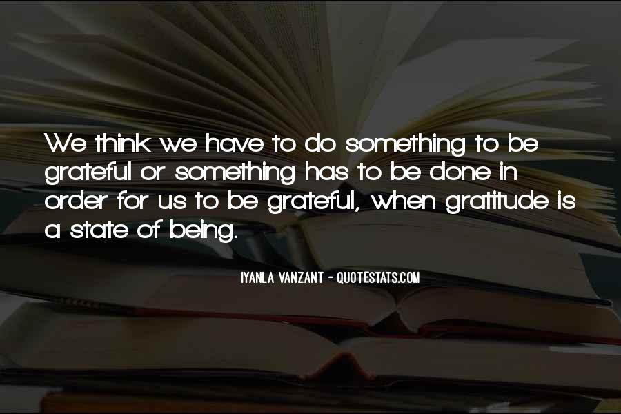 Be Grateful Quotes #108605