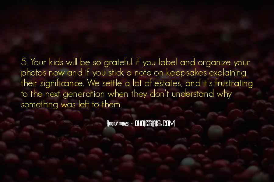 Be Grateful Quotes #111068
