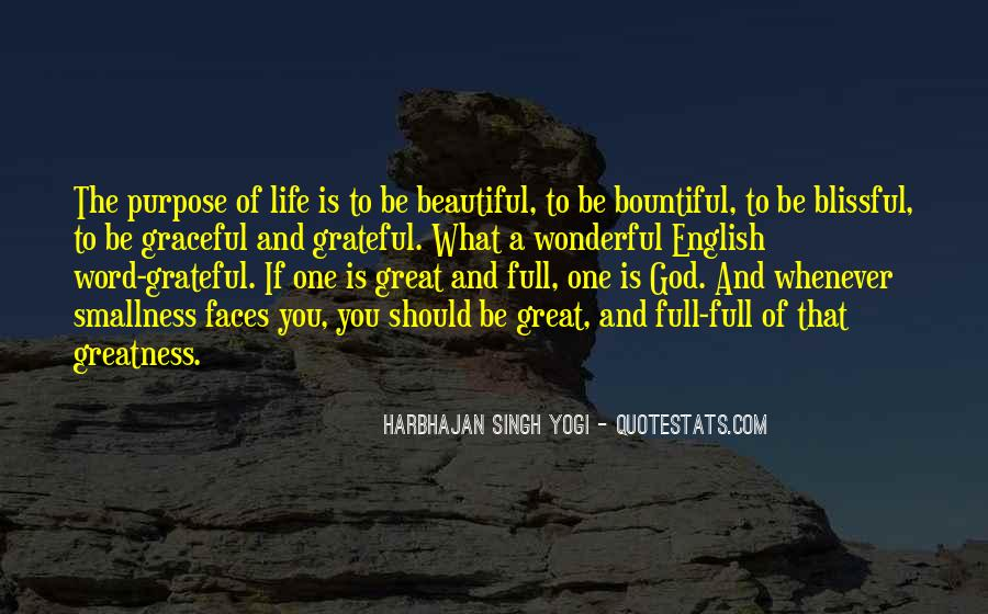 Be Grateful Quotes #118764