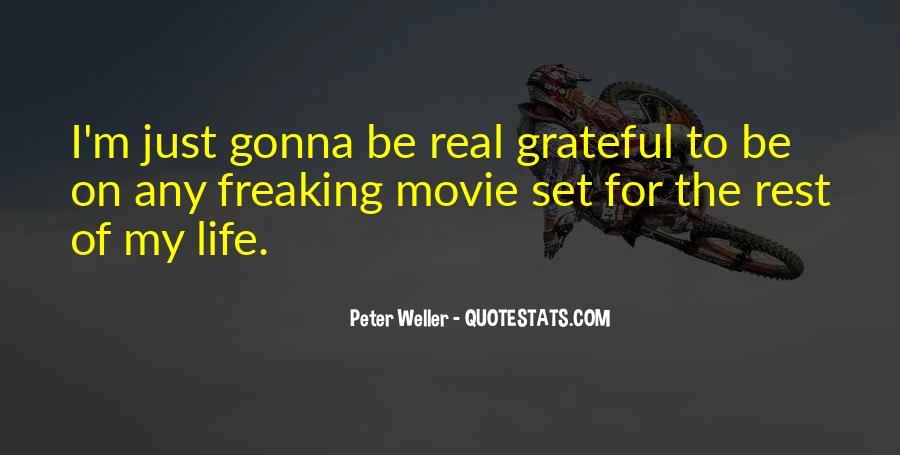 Be Grateful Quotes #13198