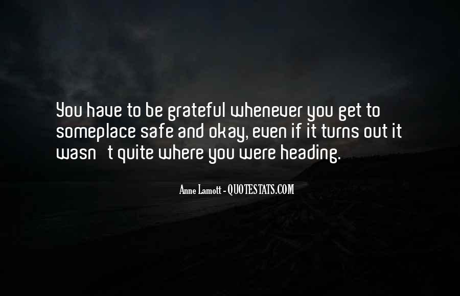 Be Grateful Quotes #134315