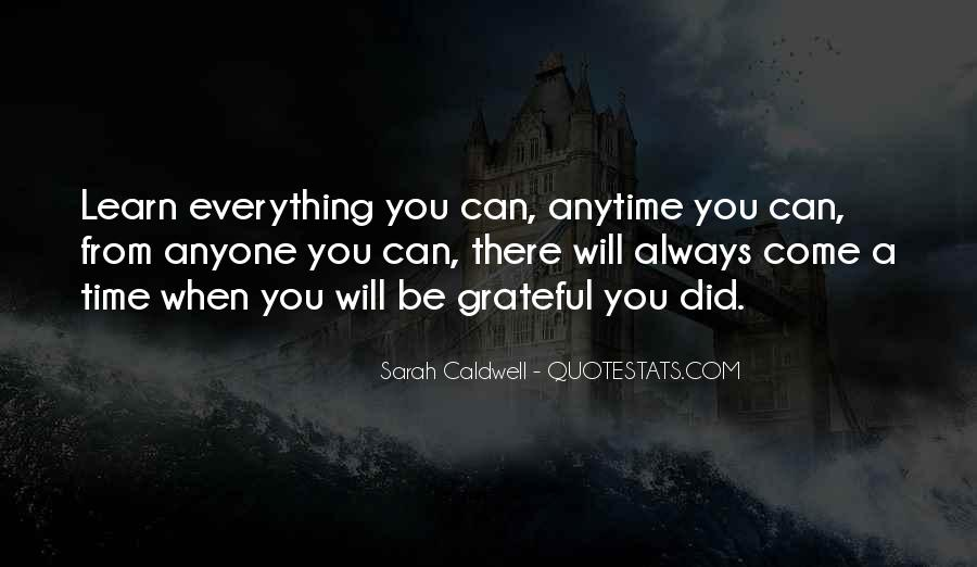 Be Grateful Quotes #136277