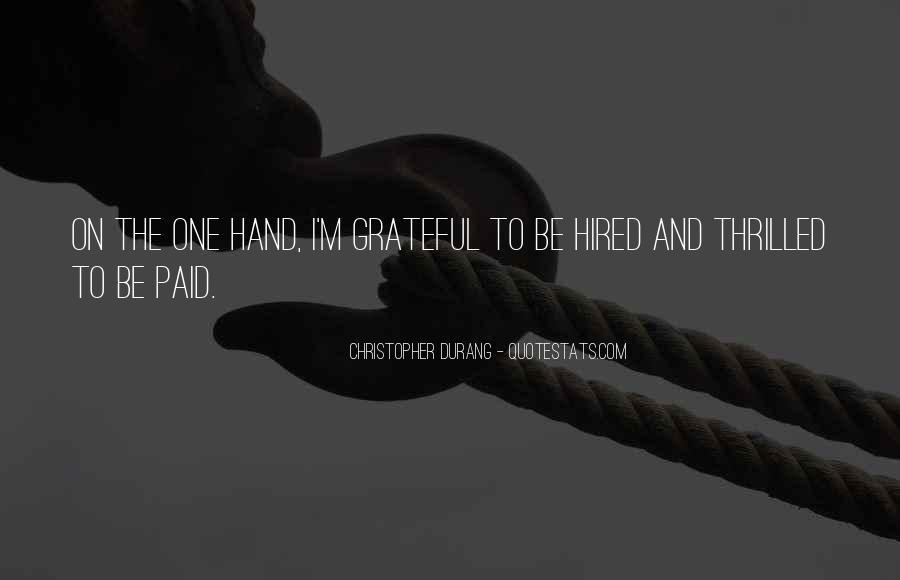 Be Grateful Quotes #22117