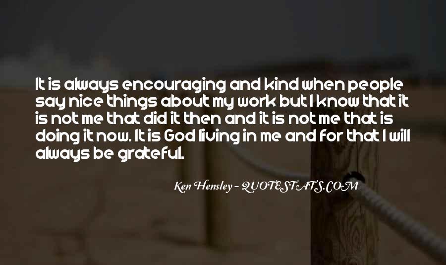 Be Grateful Quotes #28905