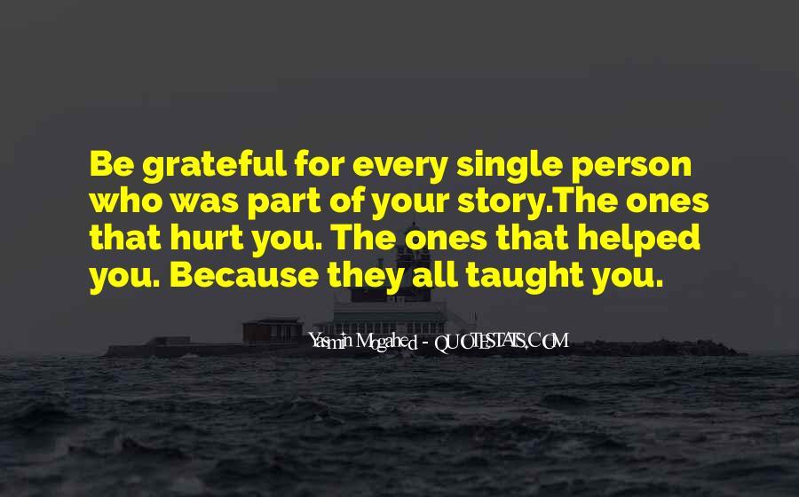 Be Grateful Quotes #36154