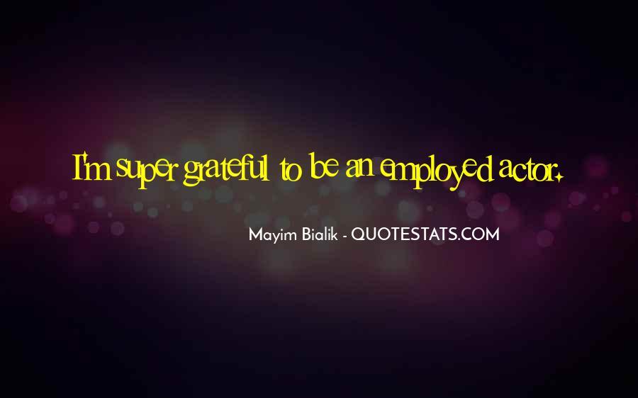 Be Grateful Quotes #38794