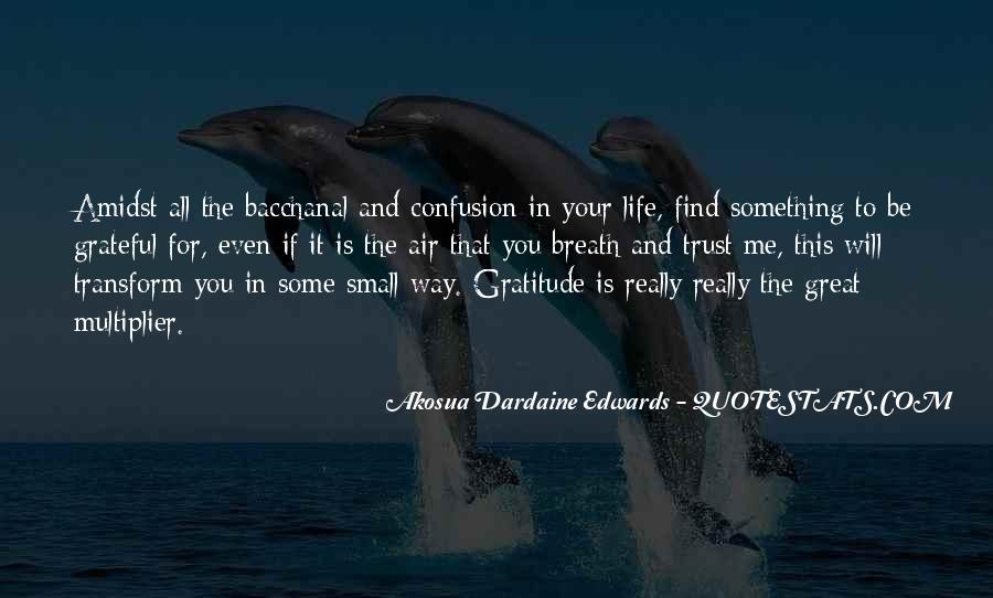 Be Grateful Quotes #42879