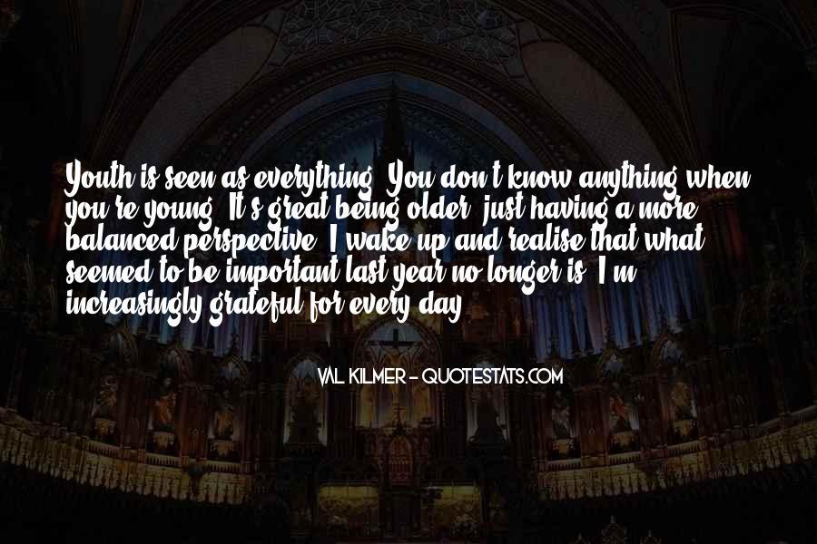 Be Grateful Quotes #48051