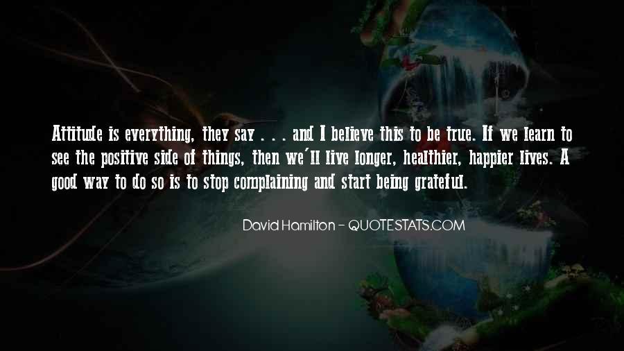 Be Grateful Quotes #55097