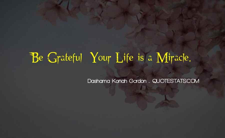 Be Grateful Quotes #59970
