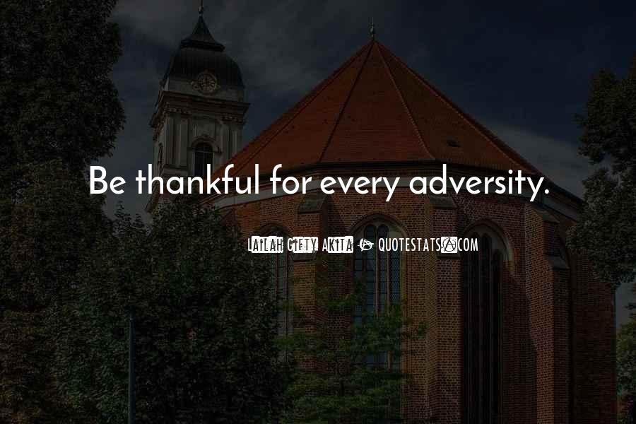 Be Grateful Quotes #68211