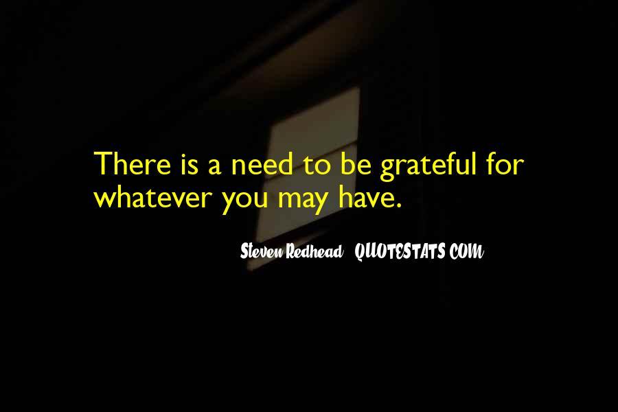 Be Grateful Quotes #90634