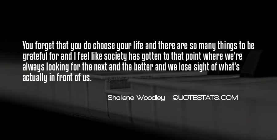 Be Grateful Quotes #92967