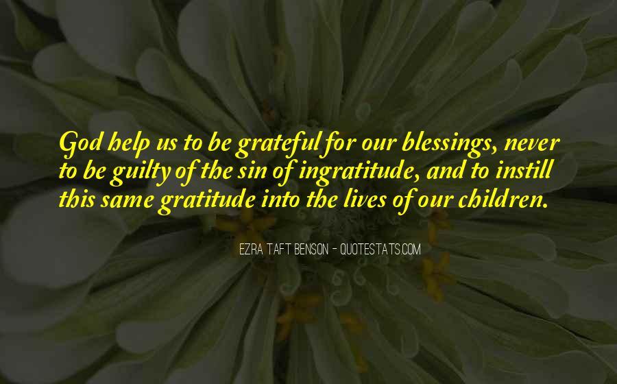 Be Grateful Quotes #9550