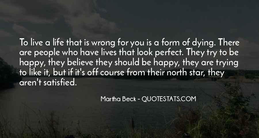 Be Happy Who You Are Quotes #141313